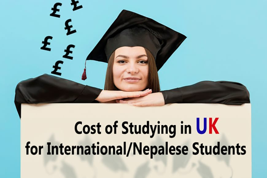 Cost of Studying in UK for International Students