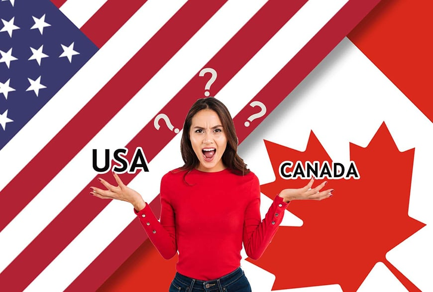 Study in USA vs Study in Canada