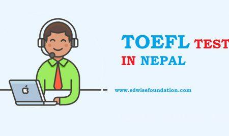 TOEFL Test In Nepal (TOEFL Dates In Nepal)