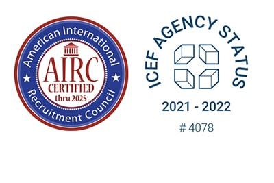 Internationally Accredited Homepage 2021-2022