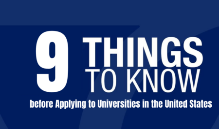 9 Things you Should Know before Applying to Universities in the United States